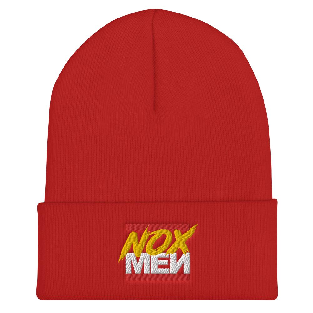 NOX Red Logo Beanie