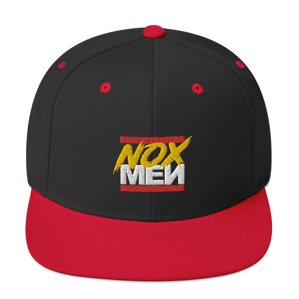 NOX Red Logo Snapback
